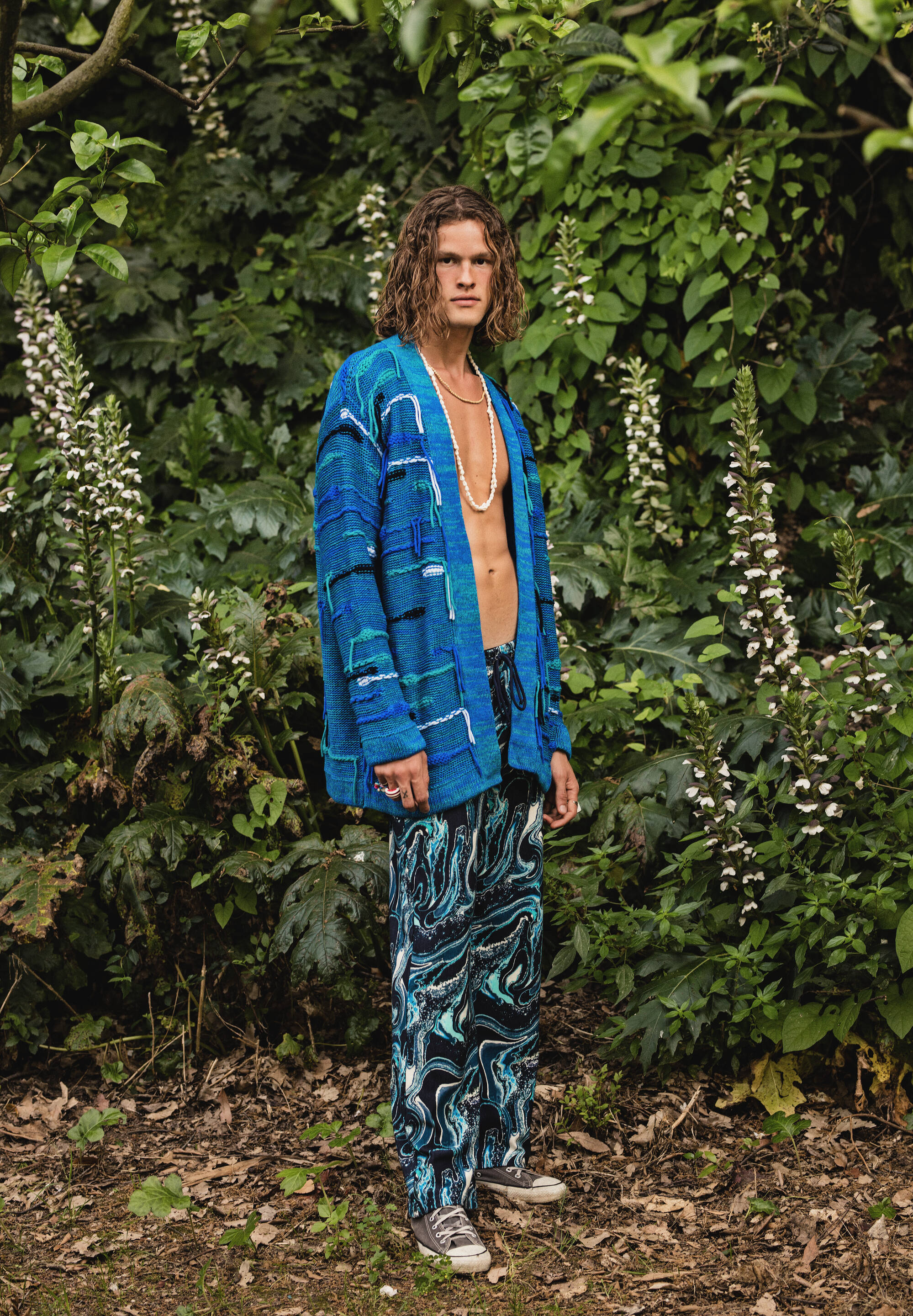 PSYCHEDELIC CARDIGAN  DYLAN  STRAIGHT PANTS